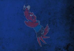 Krabben online buchen oder zu Hause gucken.
