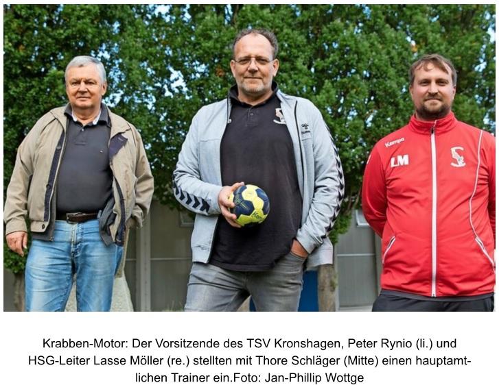 Read more about the article Krabben wollen mit Thore Schläger hoch hinaus